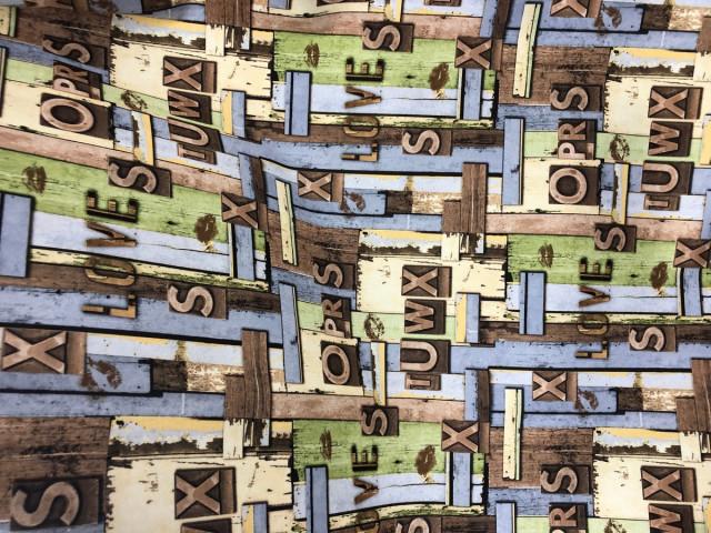 Мебельная ткань Алфавит купить