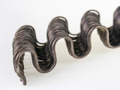 Пружина змейка рубленая