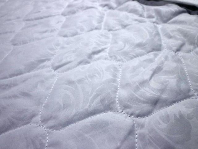 Подкладочная ткань Матрасная ткань микрофибра стёганая белая 60 синтепон купить