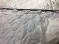 Подкладочная ткань Матрасная ткань микрофибра стёганая белая 60 синтепон цена