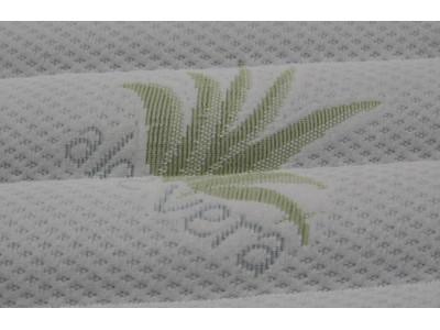 Матрасная ткань трикотаж Алоэ Вера (240 г/м) стёганая на 300 синт