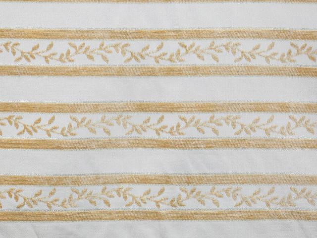 Мебельная ткань Карина крем полоса купить
